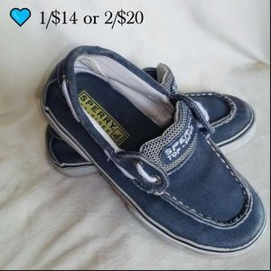  1/$14 or 2/$20 Sperry Canvas boat shoes Toddler